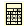 SALE!  Chocolate Calculators, Set of 5