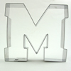 Cookie Cutter Varsity Letter M