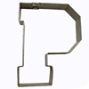 Cookie Cutter Varsity Letter P