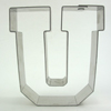 Cookie Cutter Varsity Letter U