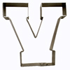 Cookie Cutter Varsity Letter V