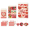 Cavallini Retro Valentine Petite Treat Bag Set