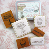 Cavallini Sweet Treats Rubber Stamp Set