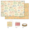 Cavallini Vintage Bicycles Wrap Pack