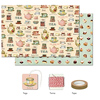 Cavallini Tea & Sweets Wrap Pack