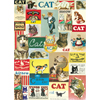 Cavallini Vintage Cats Wrapping Paper, 20