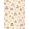 Cavallini Retro Birthday Wrapping Paper, 20