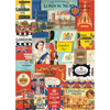 Cavallini Vintage London Wrapping Paper, 20
