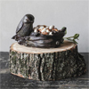 Bird & Nest Tealight Holder