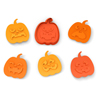 Snack O Lantern Cookie Cutters, Set of 6