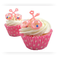 Baby Cupcake & Cake Decorations