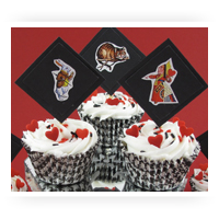 Childrens Themes Cupcake & Cake Decorations