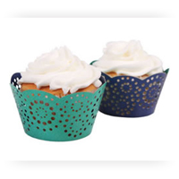 Cupcake Wrappers by Color