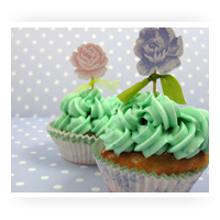 Flowers Cupcake & Cake Decorations From Fancy Flours