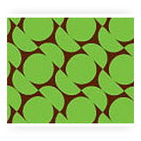Green Patterned Chocolate Transfer Sheets
