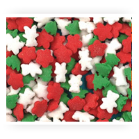 Sprinkles quins nonpareils from fancy flours for Decorating quins