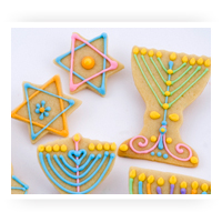 Jewish Theme Cookie Cutters