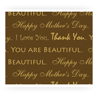 Mother's Day Chocolate Transfer Sheets