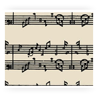 Music Chocolate Transfer Sheets