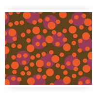 Orange Patterned Chocolate Sheets