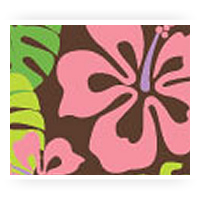 Pink Patterned Chocolate Transfer Sheets