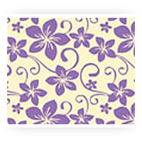 Purple Patterned Chocolate Transfer Sheets