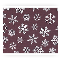 Winter Themed Chocolate Transfer Sheets