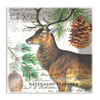 Balsam Fir Square Glass Plate