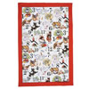 The Twelve Days of Christmas Tea Towel