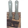 Mini Spoon & Fork Clip Set of 2