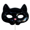 Giant Black Cat Lollipop Mask, 4.5 oz