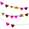 Valentine Hugs & Kisses Decorative Garland