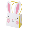 Funny Bunny Party Treat Bags, Set of 8
