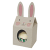 Funny Bunny Cupcake Boxes Small, Set of 4
