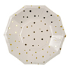 Gold Stars Small Plates, Set of 8