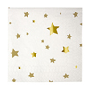 Gold Star Small Napkins, Set of 16
