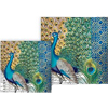 Michel Designs Peacock Luncheon Paper Napkins