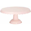 Tin Cake Stand, Light Pink