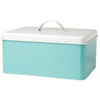 Rectangle Storage Tin, Aqua