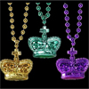 Mardi Gras Beads, Set of 3