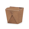 Natural Kraft Take Out Boxes, Set of 10, 2.75