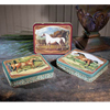 Vintage Horse Tins, Set of 3