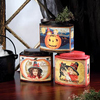 Vintage Halloween Tins, Set of 3