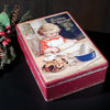Vintage Baking Girl Christmas Cookie Tin
