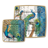 Michel Design Works Peacock Paper Plates, Dinner