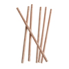 Wood Grain Paper Straws, 25/pkg
