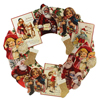 HOLIDAY SALE! Vintage Christmas Bethany Lowe Die Cut Wreath,  20