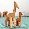 3D Safari Giraffe with Baby Cookie Cutter