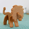 3D Safari Lion Cookie Cutter