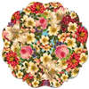 Spring Blossoms Cake & Plate Board, Set of 4